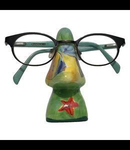 Brillenhouder Groen Met Geel Oceaan