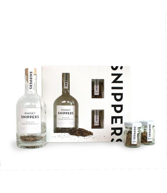 Snippers Cadeauset Whisky Snippers & Mix