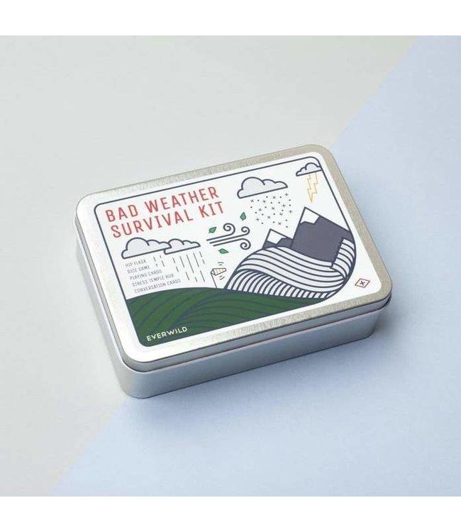 Cadeauset Bad Weather Survival Kit