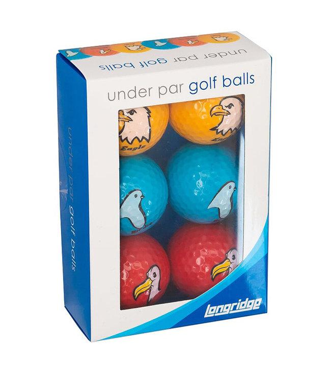Golfballen Onder Par