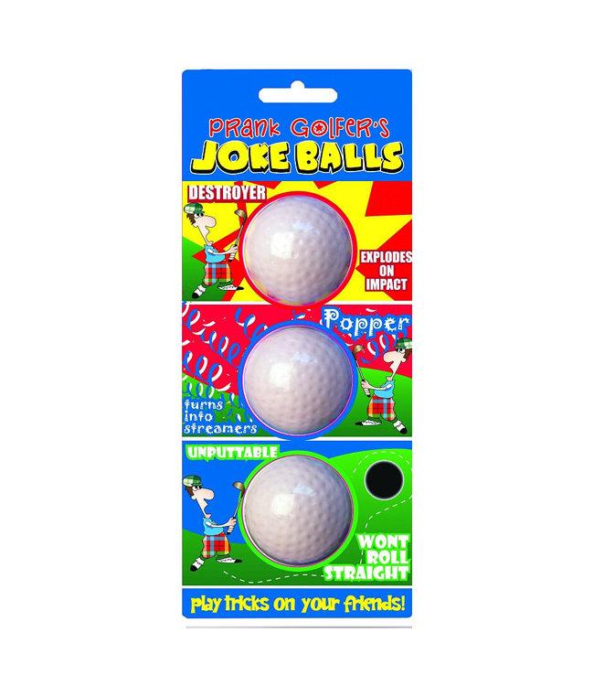 JS International Fop Golfballen Prank