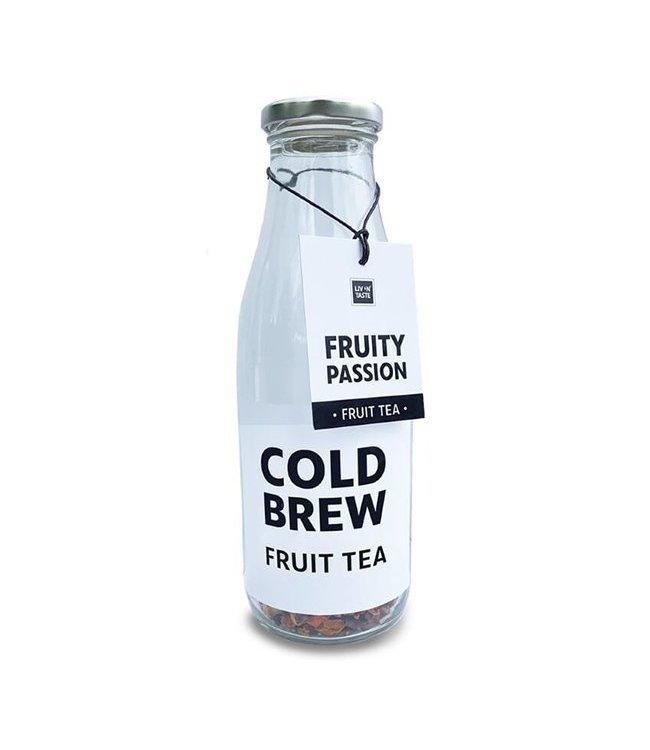 Liv 'n Taste Cold Brew Tea Fruity Passion In Fles