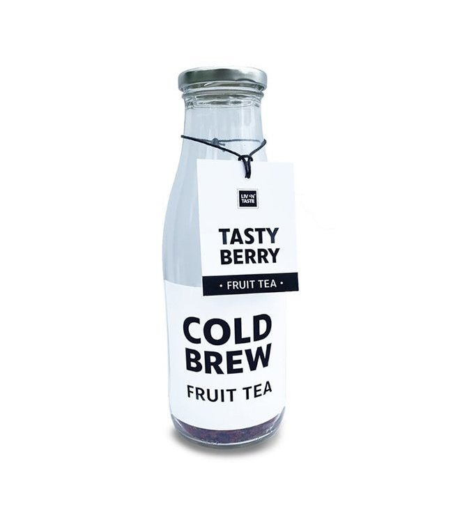 Cold Brew Tea Tasty Berry In Fles