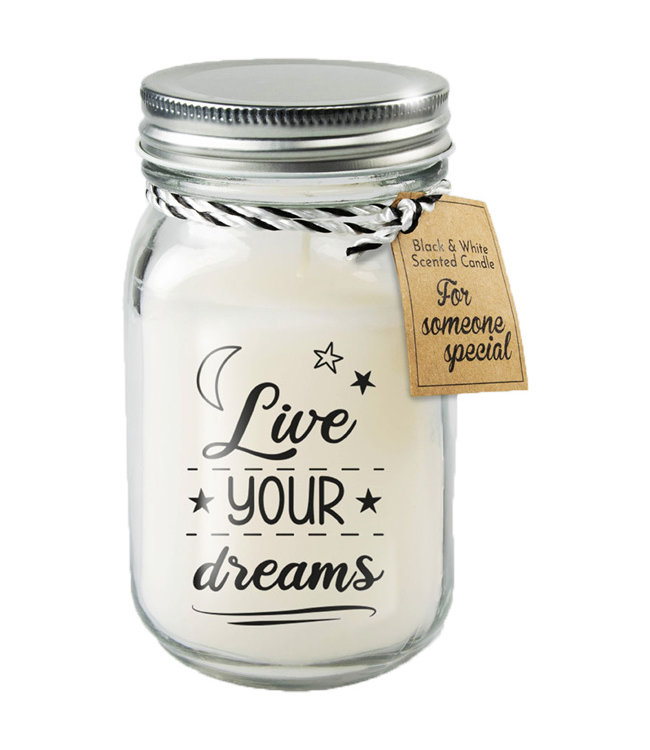 Kaars Live your Dreams