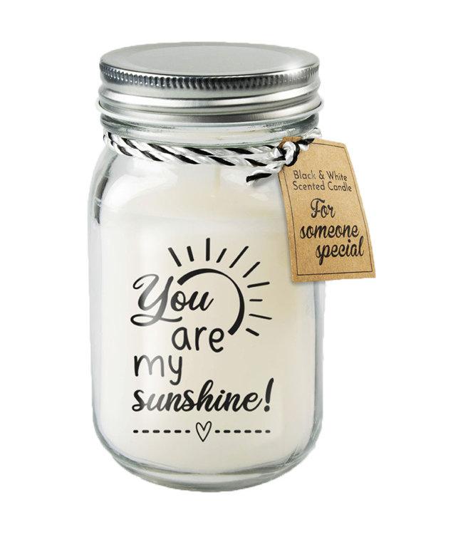Kaars You are my Sunshine