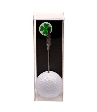 Foto- en kaartjeshouder golfbal