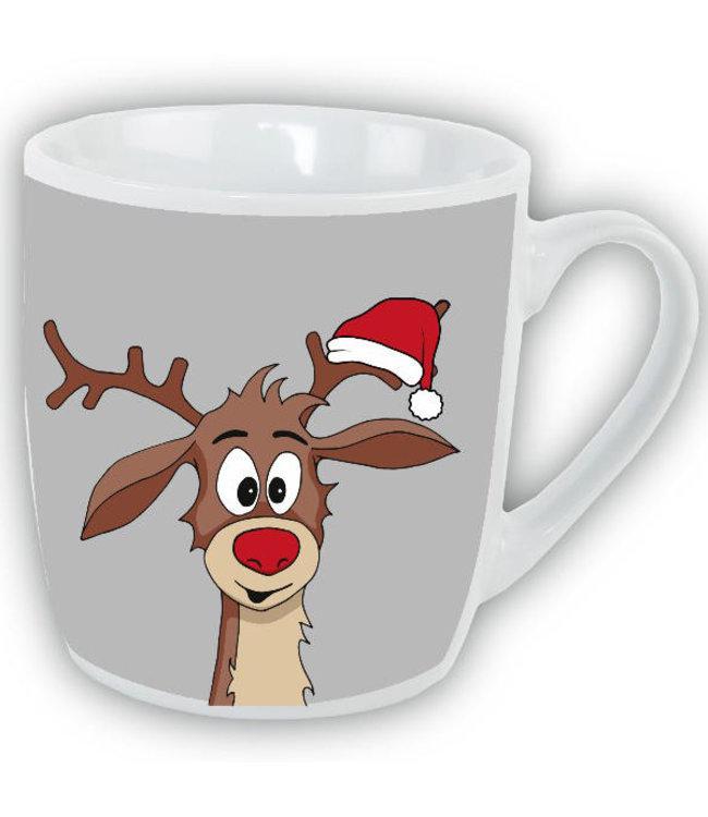 Mok Kerst Rudolf het rendier