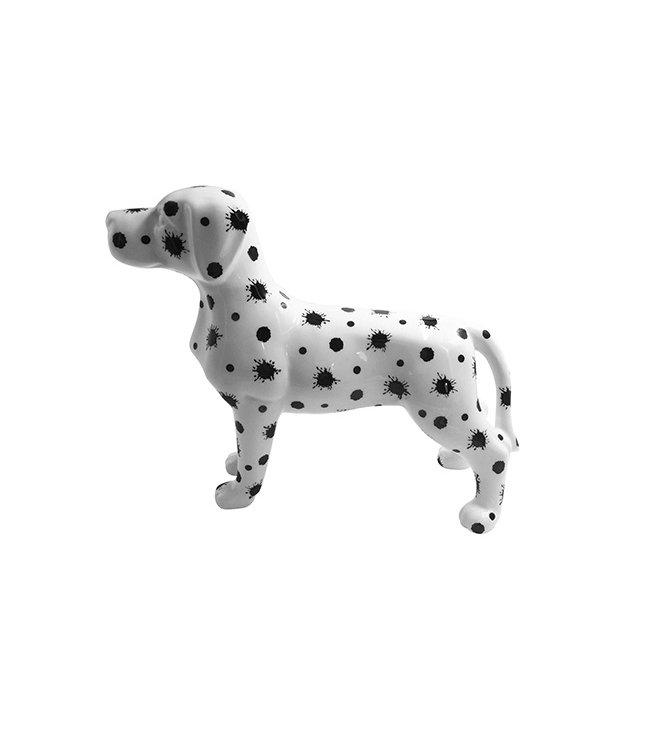 Spaarpot Hond Met Verfspatten