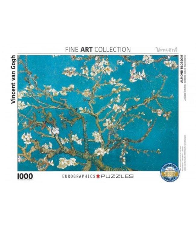 Eurographics Puzzel - Almond Blossom - Vincent van Gogh (1000)