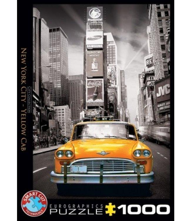 Eurographics Puzzel - New York City - Yellow Cab (1000)