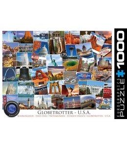 Eurographics Puzzel - Globetrotter USA (1000)