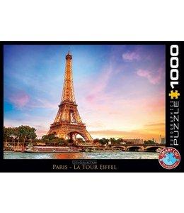 Eurographics Puzzel - Paris La Tour Eiffel (1000)