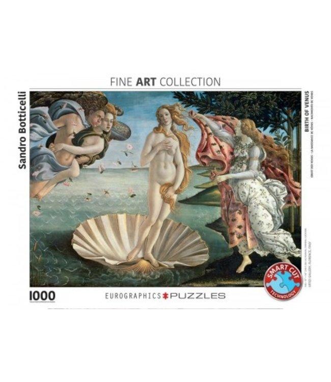 Eurographics Puzzel - Birth of Venus - Sandro Botticelli (1000)