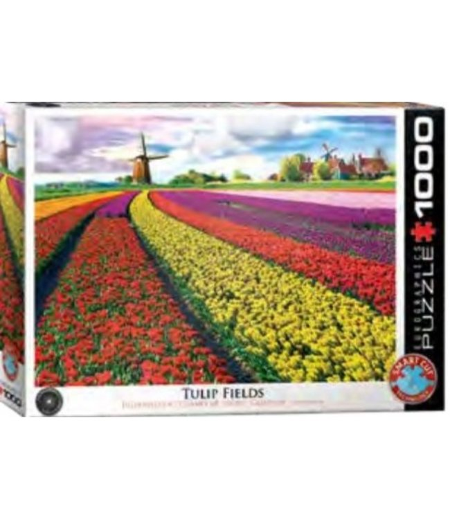 Puzzel - Tulip Fields Netherlands (1000)