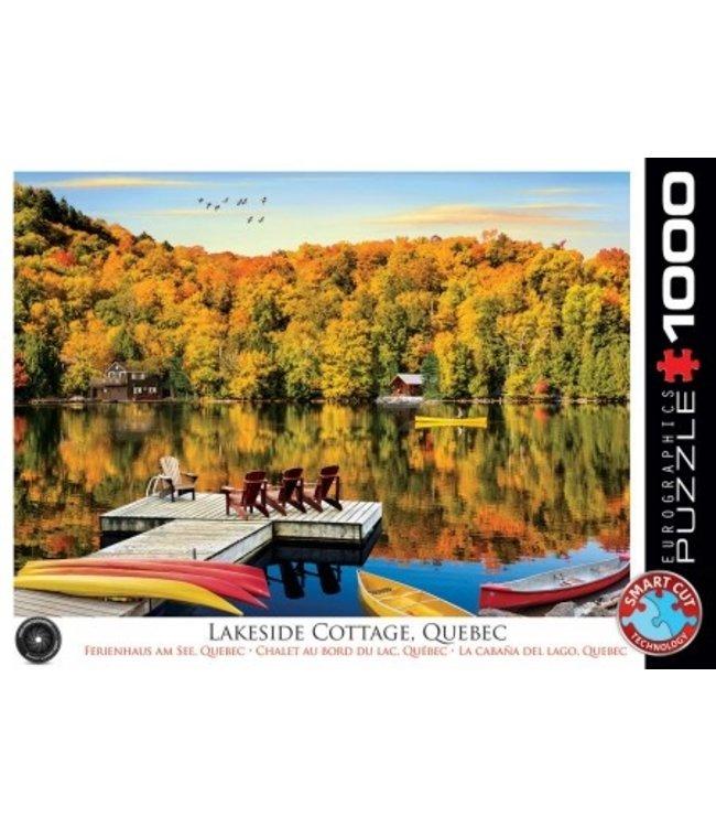 Eurographics Puzzel - Lakeside Cottage Quebec - (1000)