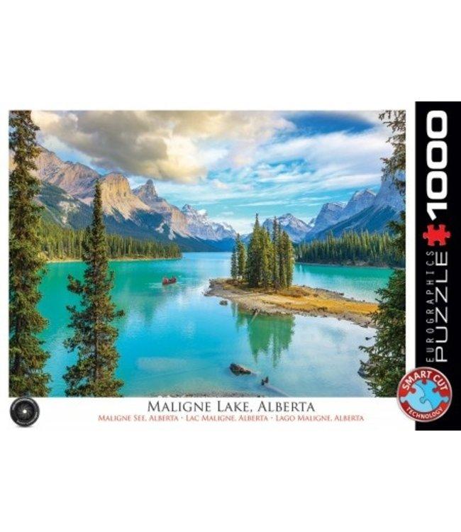 Eurographics Puzzel - Maligne Lake Alberta (1000)