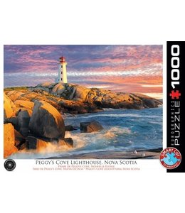 Eurographics Puzzel - Peggy's Cove Lighthouse, Nova Scotia (1000)