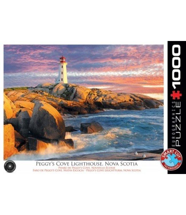 Puzzel - Peggy's Cove Lighthouse, Nova Scotia (1000)