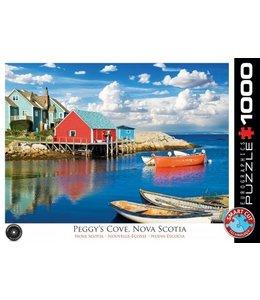 Eurographics Puzzel - Peggy's Cove Nova Scotia (1000)