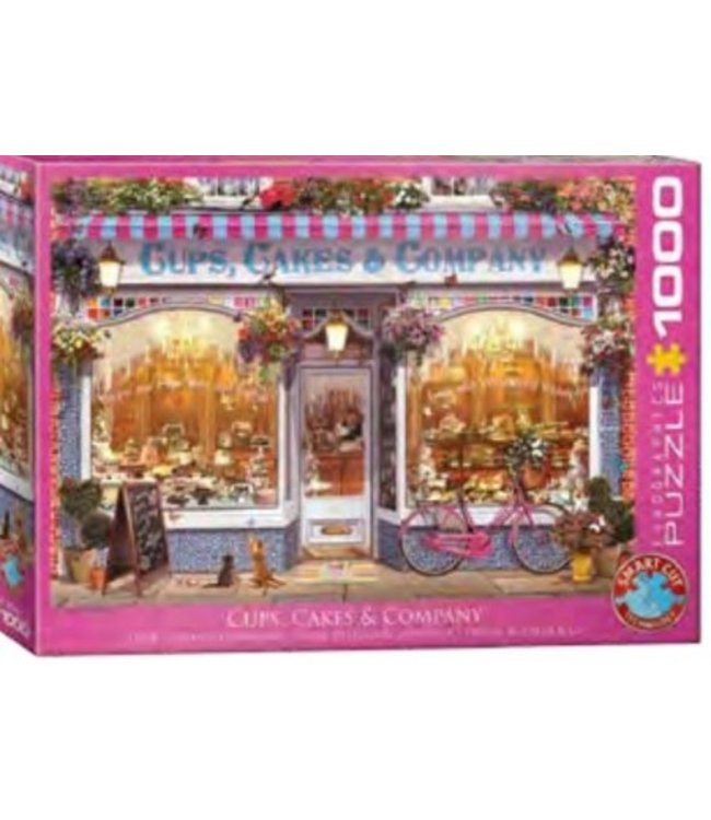 Puzzel - Cups, Cakes & Company (1000)