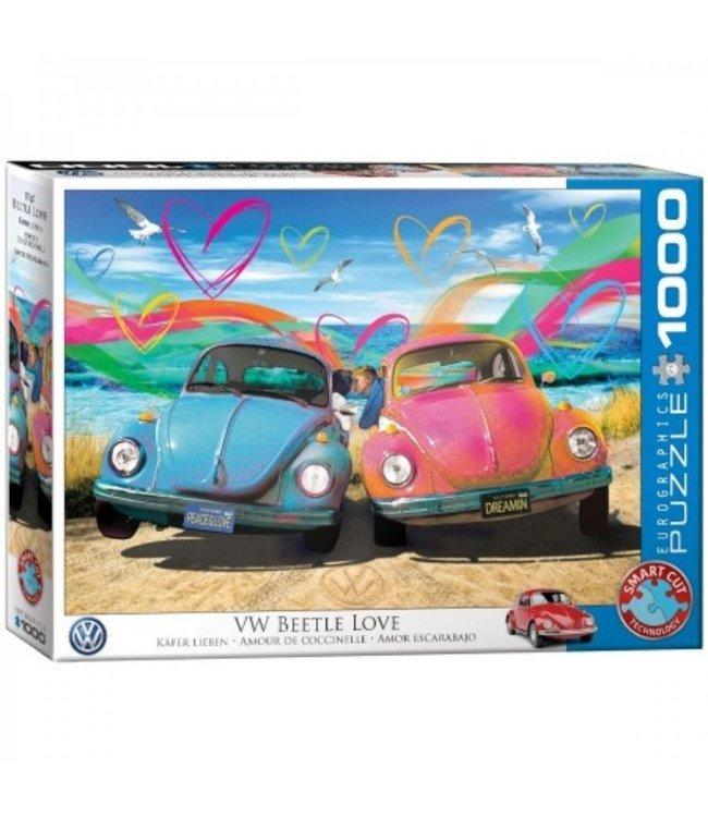 Puzzel - VW Beetle Love - Parker Greenfield (1000)
