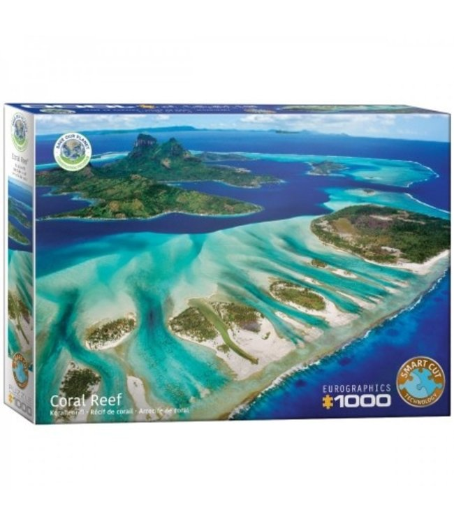Eurographics Puzzel - Save the Planet! Coral Reef (1000)