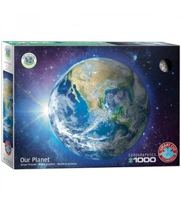 Eurographics Puzzel - Save the Planet! Our Planet (1000)