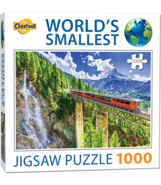Puzzel - World's Smallest - Matterhorn (1000)