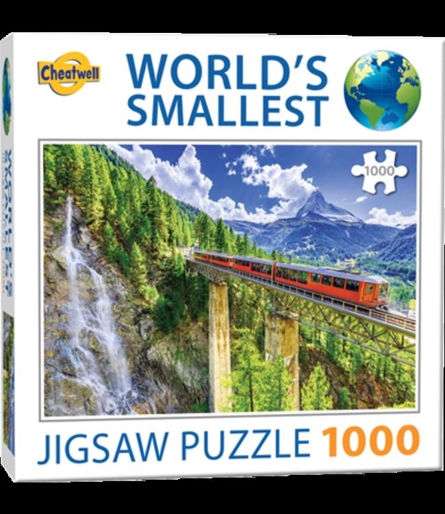 Cheatwell Puzzel - World's Smallest - Matterhorn (1000)