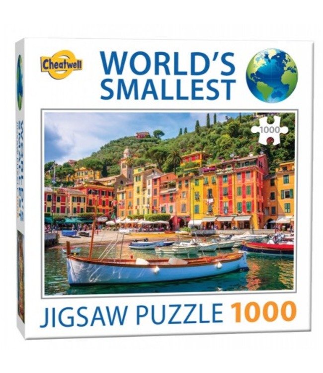 Puzzel - World's Smallest - Portofino (1000)