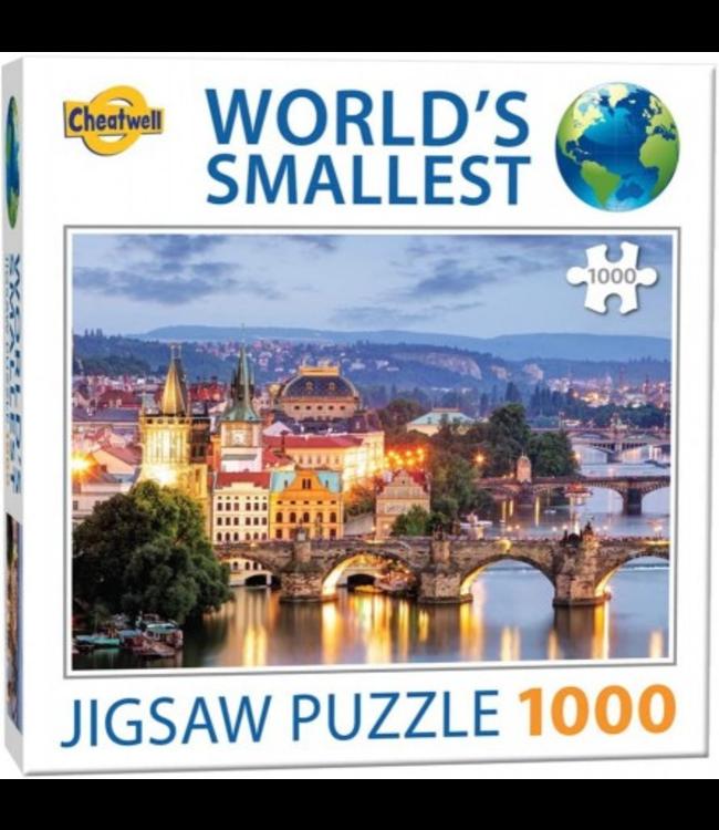 Cheatwell Puzzel - World's Smallest - Prague Bridges (1000)
