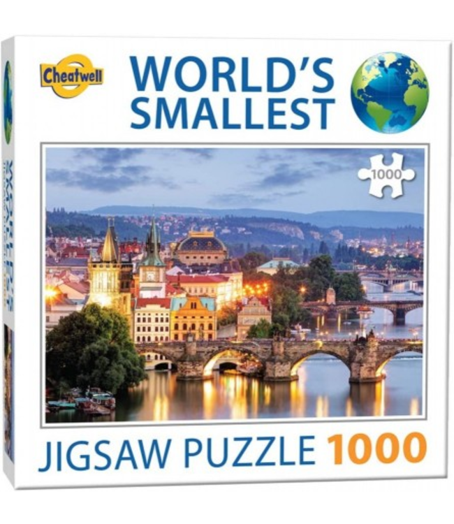 Puzzel - World's Smallest - Prague Bridges (1000)