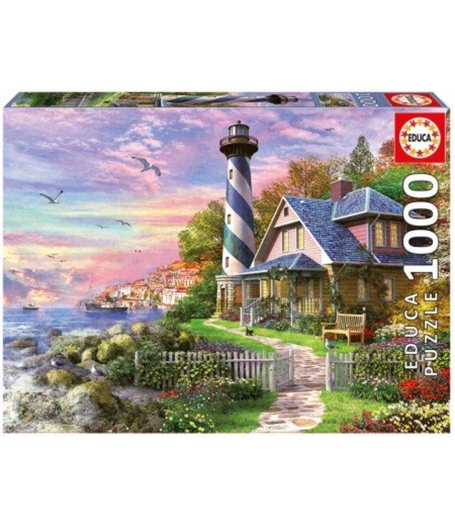 Puzzel - Vuurtoren bij Rock Bay (1000)