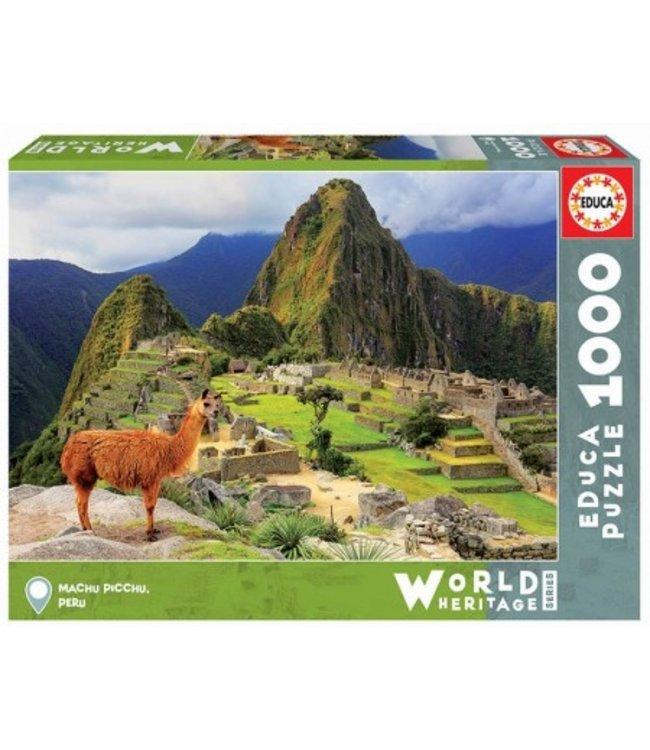 Educa Puzzel - Machu Picchu, Peru (1000)