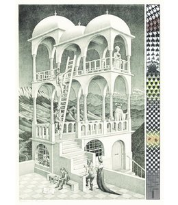 Puzzelman Puzzel - Belverdere - M.C. Escher (1000)
