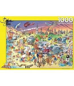 Puzzelman Puzzel - Strand - Danker Jan (1000)