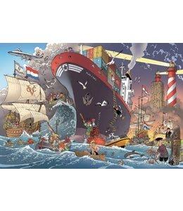 Puzzelman Puzzel - Zeevaart - Danker Jan (1000)