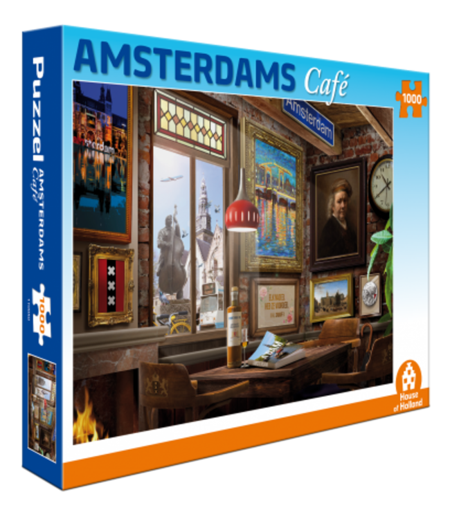Puzzel - Amsterdams Café (1000)