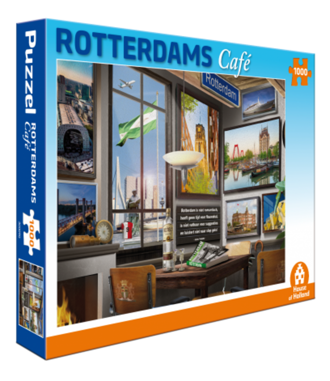 Puzzel - Rotterdams Café (1000)