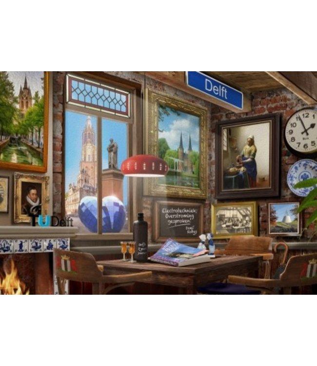 Puzzel - Delfts Café (1000)