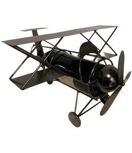 Wijnfleshouder Vliegtuig Dubbeldekker