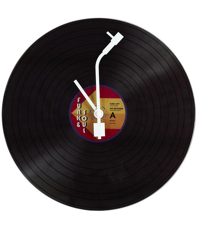 Wandklok Vinyl LP Funk & Soul