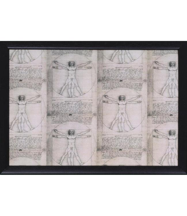 Schootkussen Leonardo Da Vinci