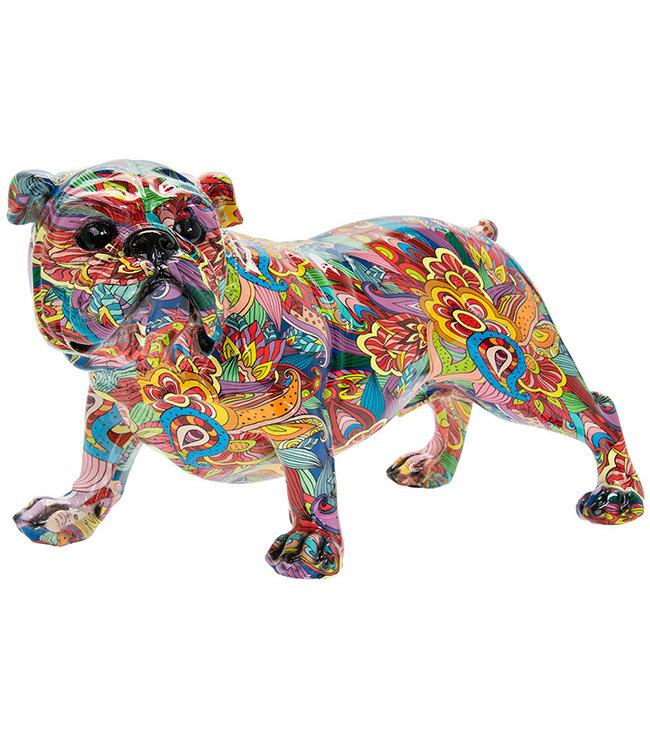 Groovy Art Bulldog