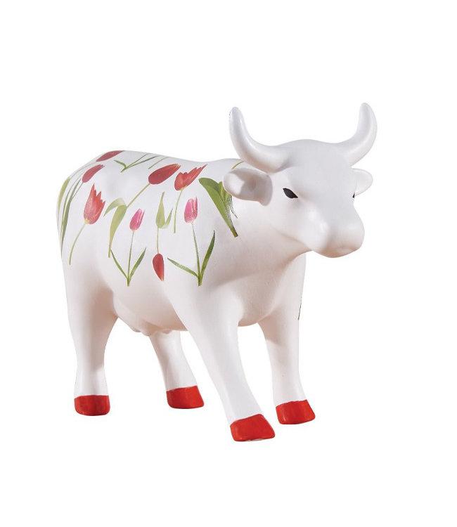 CowParade Tulip Cow (medium ceramic)