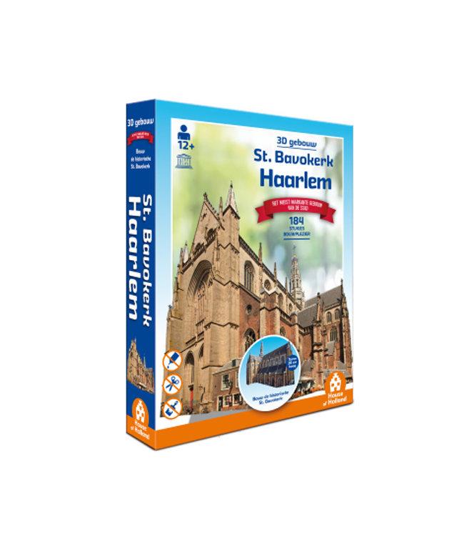3D Puzzel - St Bavokerk Haarlem