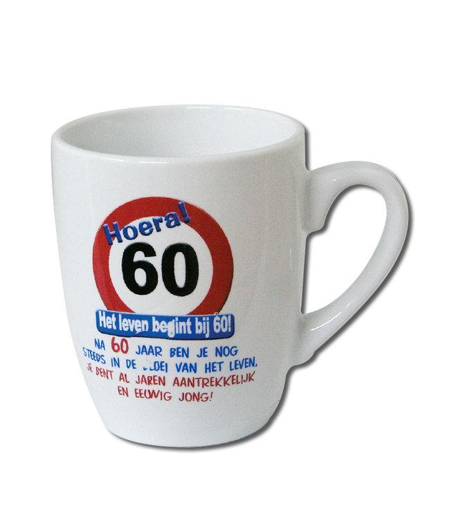 Verkeersbord 60 jaar