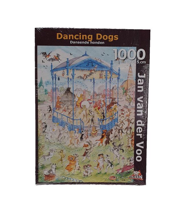 Puzzel - Dansende Honden - Jan van der Voo (1000)