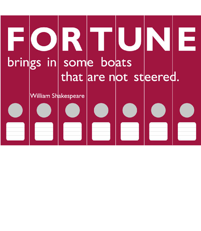 Ordneretiketten  Fortune