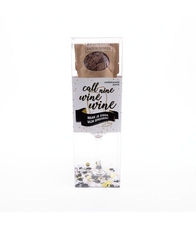 Speciaal Wijn Pakket - Amerikaanse editie Zwart/Wit Versie